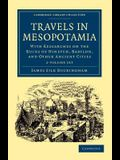 Travels in Mesopotamia 2 Volume Set: With Researches on the Ruins of Nineveh, Babylon, and Other Ancient Cities
