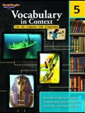 Vocabulary in Context for the Common Core Standards: Reproducible Grade 5