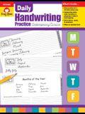 Daily Handwriting Contemporary Cursive