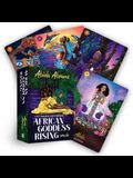 African Goddess Rising Oracle: A 44-Card Deck and Guidebook