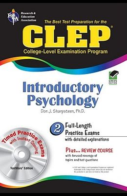 CLEP: Introductory Psychology, TestWare Edition (Book & CD-ROM)