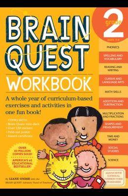 Brain Quest Workbook: Grade 2 [With Stickers]