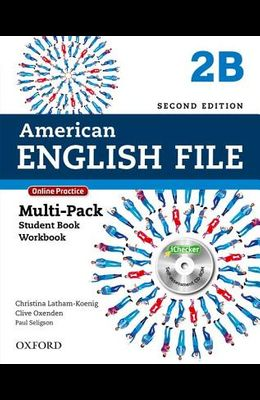 American English File Second Edition: Level 2 Multi-Pack B: With Online Practice and iChecker