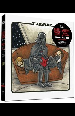 Darth Vader & Son / Vader's Little Princess Deluxe Box Set (Includes Two Art Prints) (Star Wars): (star Wars Kids Books, Star Wars Children's Books, S