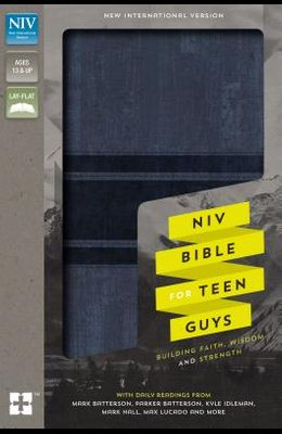 NIV, Bible for Teen Guys, Leathersoft, Blue: Building Faith, Wisdom and Strength