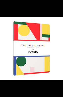 Creative Notions: Notebook Collection (Lined Notebook for a Creative Lifestyle, Blank Journal with Colorful Geometric Designs)