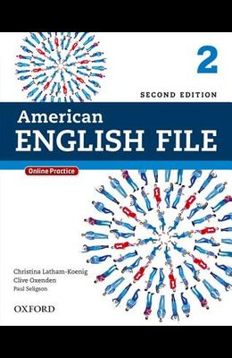 American English File 2e 2 Studentbook: With Online Practice
