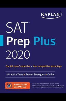 SAT Prep Plus 2020: 5 Practice Tests + Proven Strategies + Online
