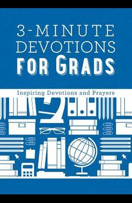 3-Minute Devotions for Grads