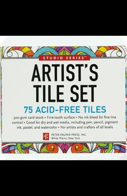 Studio Series Artist's Tile Set: White: 75 Acid-Free White Tiles