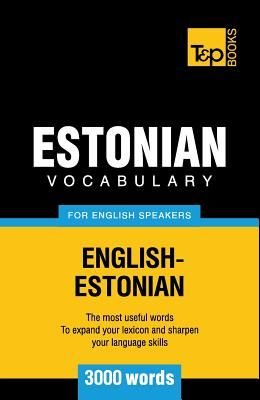 Estonian vocabulary for English speakers - 3000 words