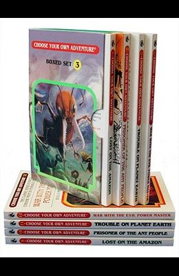 Lost on the Amazon, Prisoner of the Ant People, Trouble on Planet Earth,& War with the Evil Power Master: Books 9-12