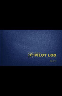 The Standard Pilot Log (Navy Blue): Asa-Sp-57