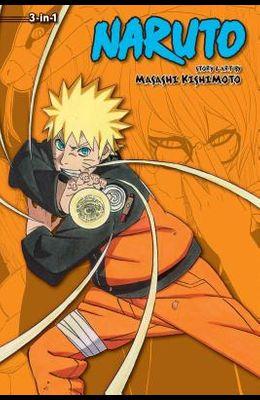 Naruto (3-In-1 Edition), Vol. 18, Volume 18: Includes Vols. 52, 53 & 54