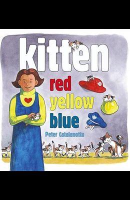 Kitten Red, Yellow, Blue