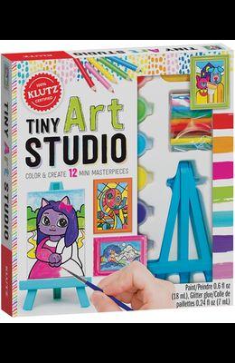 Tiny Art Studio: Color & Create 10 Mini Masterpieces