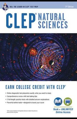 CLEP Natural Sciences: Book + Online