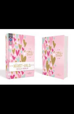 Niv, Heart of Gold Holy Bible, Hardcover, Red Letter Edition, Comfort Print