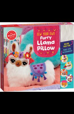 Sew Your Own Furry Llama Pillo