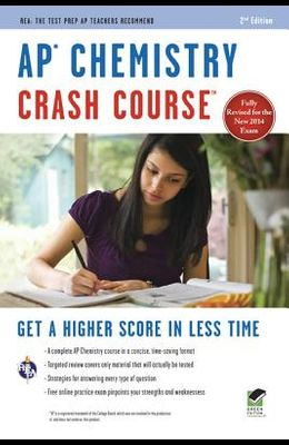 Ap(r) Chemistry Crash Course, 2nd Ed., Book + Online