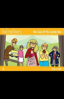 Bad Machinery Vol. 4, 4: The Case of the Lonely One, Pocket Edition