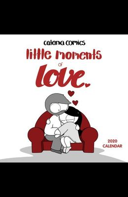 Catana Comics Little Moments of Love 2020 Wall Calendar