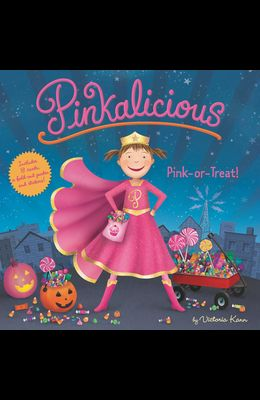 Pinkalicious: Pink or Treat!: Includes 8 Cards, a Fold-Out Poster, and Stickers!