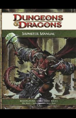 Dungeons & Dragons Monster Manual: Roleplaying Game Core Rules, 4th Edition