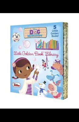 Doc McStuffins Little Golden Book Library (Disney Junior: Doc McStuffins): As Big as a Whale; Snowman Surprise; Bubble-Rific!; Boomer Gets His Bounce