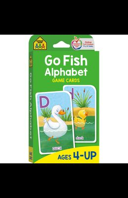 Go Fish Alphabet Game Cards: Game Cards