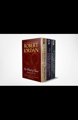 Wheel of Time Premium Boxed Set III: Books 7-9 (a Crown of Swords, the Path of Daggers, Winter's Heart)
