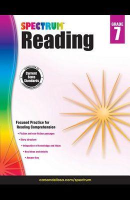 Spectrum Reading G.7 Workbook, Grade 7