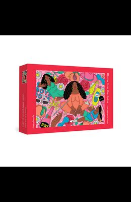 Blame It on the Juice: Lizzo 1000-Piece Puzzle