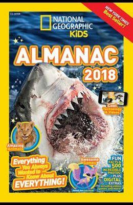 National Geographic Kids Almanac 2018 (Nation