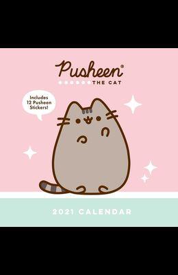 Pusheen 2021 Wall Calendar