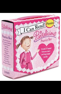 Pinkalicious 12-Book Phonics Fun!: Includes 12 Mini-Books Featuring Short and Long Vowel Sounds