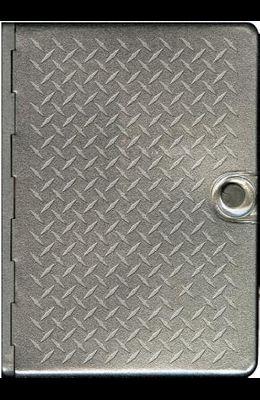 Metal Bible-NLT-Metal Diamond Plate