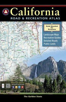 California Benchmark Road & Recreation Atlas