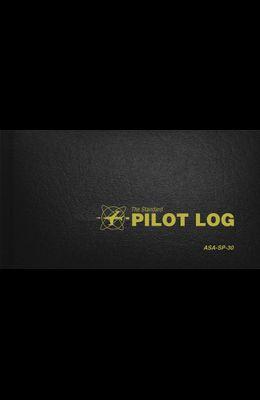 The Standard Pilot Log (Black): Asa-Sp-30
