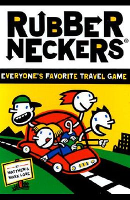 Rubberneckers: Everyone's Favorite Travel Game -- A Fun and Entertaining Road Trip Game for Kids, Great for Ages 8+ - Includes a Full Set of Travel-Re