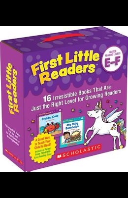 First Little Readers: Guided Reading Levels E & F (Parent Pack): 16 Irresistible Books That Are Just the Right Level for Growing Readers