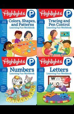 Highlights Preschool Learning Workbook Pack
