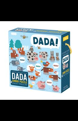 Jimmy Fallon Your Baby's First Word Will Be Dada Jumbo Puzzle