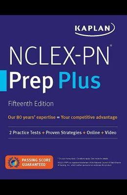 Nclex-PN Prep Plus: 2 Practice Tests + Proven Strategies + Online + Video