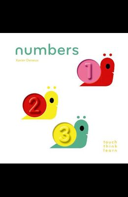 Touchthinklearn: Numbers: (Board Books for Baby Learners, Touch Feel Books for Children)
