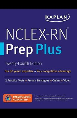 Nclex-RN Prep Plus: 2 Practice Tests + Proven Strategies + Online + Video