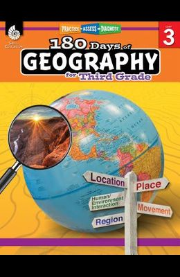 180 Days of Geography for Third Grade: Practice, Assess, Diagnose
