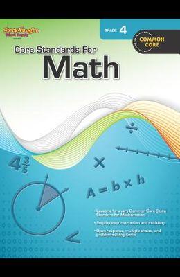 Core Standards for Math: Reproducible Grade 4