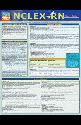 Nclex-RN Study Guide: A Quickstudy Laminated Reference Guide