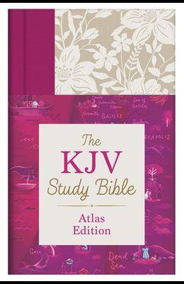The KJV Study Bible: Atlas Edition [feminine]